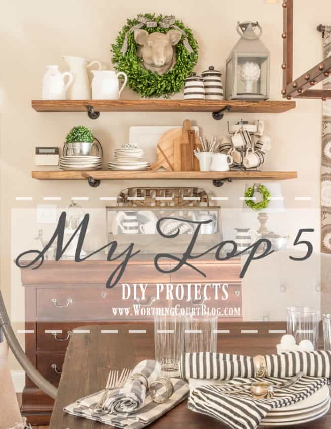 My Top 5 DIY Projects - That Have Had The Greatest Impact On Our Home || Worthing Court