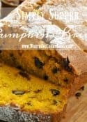 Simply Superb Pumpkin Bread Recipe