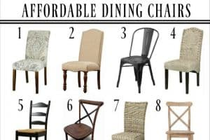 Get Ready For Holiday Entertaining – 12 Affordable Farmhouse Dining Chairs