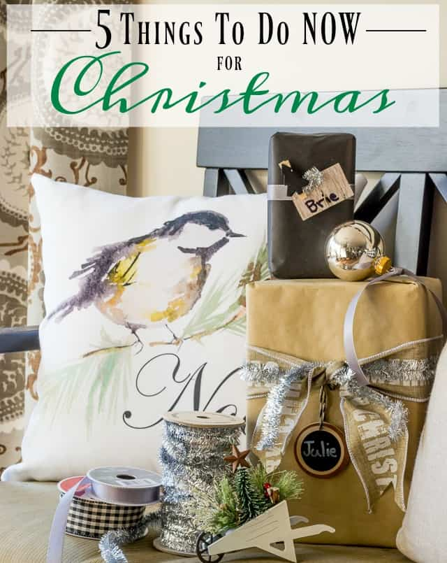 5 Things To Do Now To Get Ready For Christmas || Worthing Court