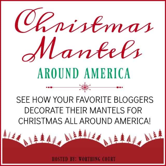 Christmas Mantels Around America poster.