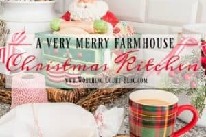 A Very Merry Farmhouse Christmas Kitchen