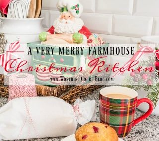 A Very Merry Farmhouse Christmas Kitchen