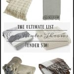 12 Cozy Neutral Winter Throws For Under $30
