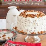 Classic Red Velvet Cake With Cream Cheese Icing Recipe