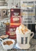 Homemade Caramel And Homemade Chocolate Coffee Creamer Recipes