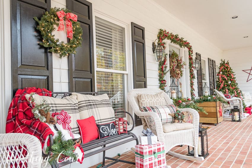 How To Have A Cozy Porch - Even When It's Cold Outside