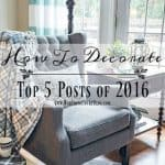 Most Popular 'How To Decorate' Posts Of 2016
