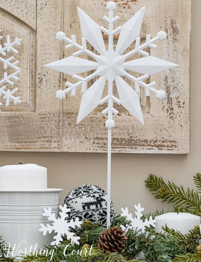 Easy to make snowflakes on a stick || Worthing Court