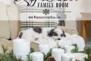 My Cozy Winter Family Room