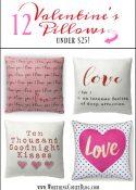 12 Valentine's Day Pillows Under $25