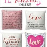 12 Valentine's Day Pillows Under $25