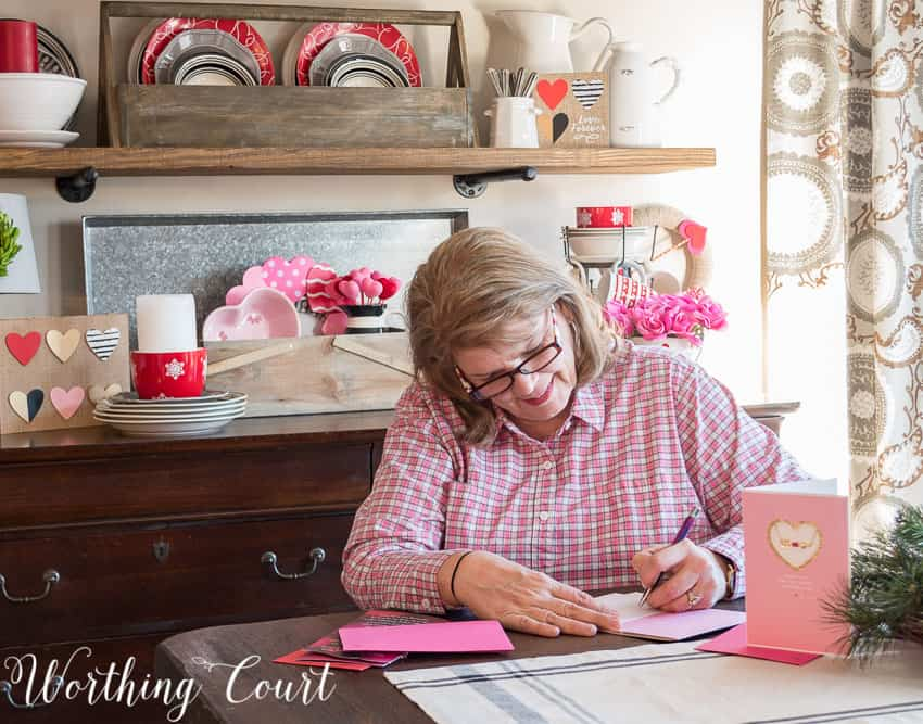 Decorate For Valentine's Day The Easy Way || Worthing Court