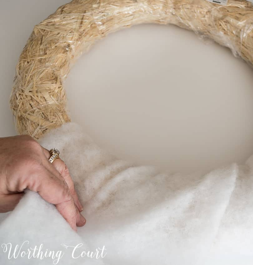 Easy 10 Minute Wreath Tutorial || Worthing Court