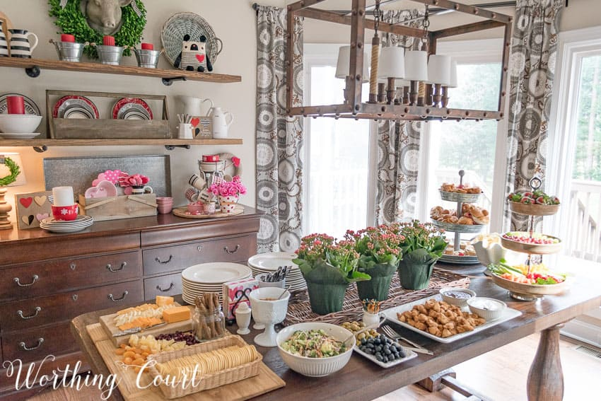 Buffet table || Worthing Court