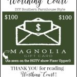 $100 Magnolia Market Gift Card Giveaway + April Recap