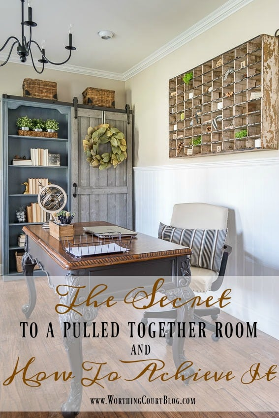 The Secret To A Pulled Together Room And How To Achieve It || Worthing Court