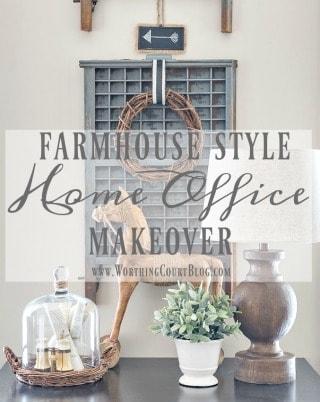 The Evolution Of A Farmhouse Style Home Office
