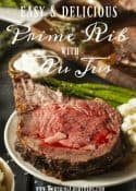 A Very Simple, But Oh So Special Meal - Prime Rib With Au Jus