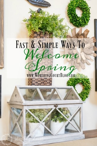 6 Quick And Simple Ways To Welcome Spring Into Your Home