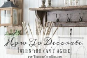 How To Decorate Your Home When You Can't Agree