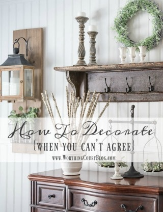 How To Decorate Your Home When You Can't Agree || Worthing Court