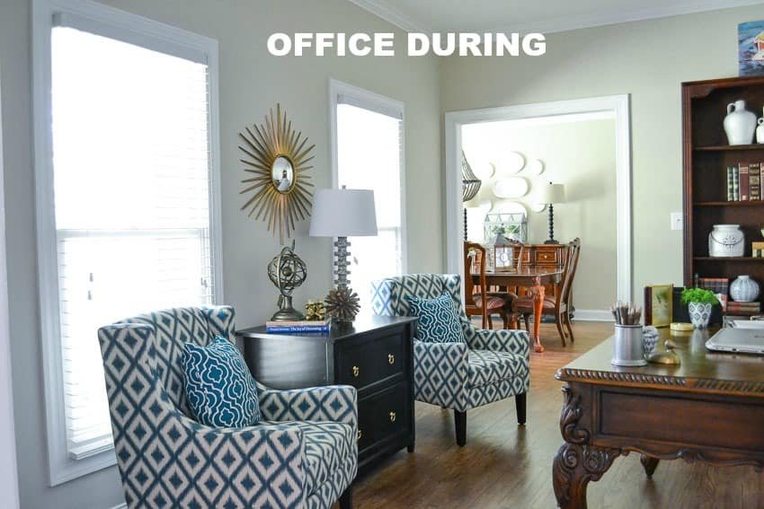 The Evolution Of A Farmhouse Style Home Office Before