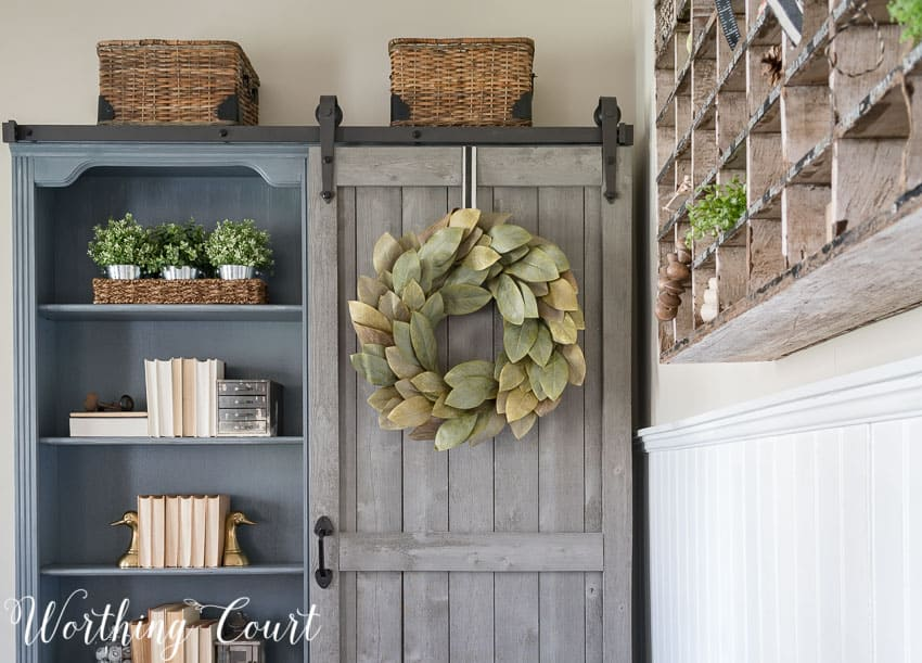 The Evolution Of A Farmhouse Style Home Office || Worthing Court