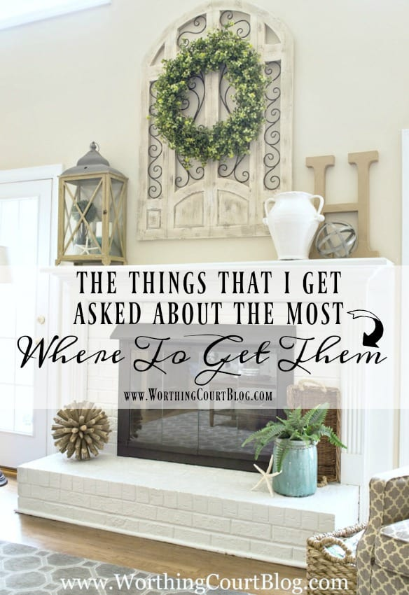 The Things That I Get Asked About The Most And Where To Get Them || Worthing Court