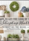 How To Get The Look Of A Shiplap Wall Without All The Hassel