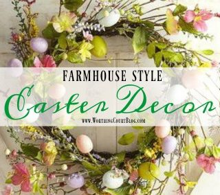 Affordable Farmhouse Easter Decor Under $25