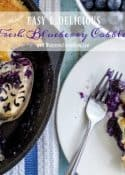 Easy And Delicious - Fresh Blueberry Cobbler Recipe || Worthing Court