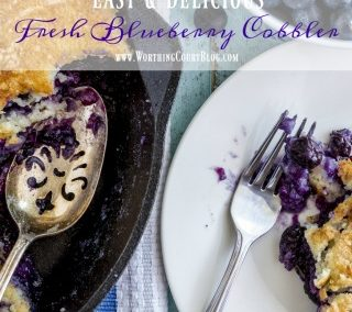 Easy And Delicious Fresh Blueberry Cobbler Recipe