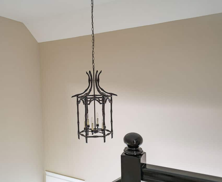 Foyer chandelier BEFORE