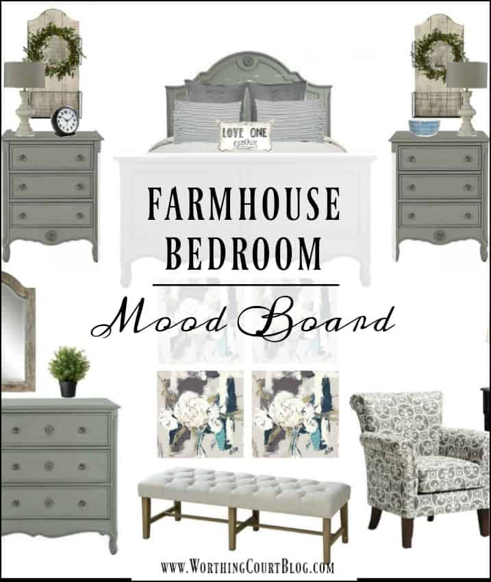 Giving A Blah Bedroom A Farmhouse Makreover || Worthing Court