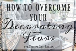 "How To Overcome The Dreaded ""Fear Of Decorating"" Syndrome"