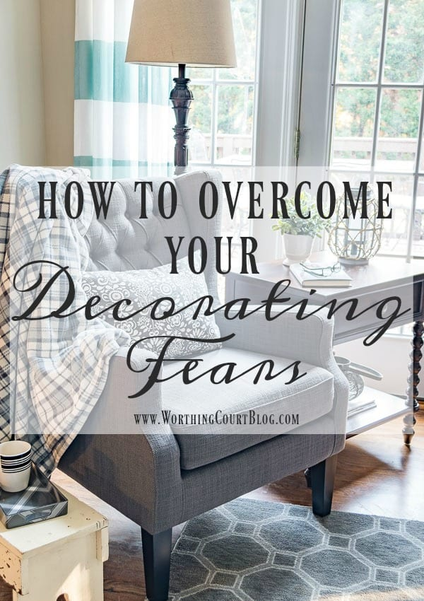 how to overcome the dreaded fear of decorating syndrome worthing