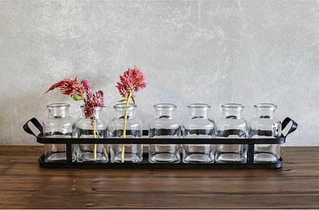 8 Piece Table Vase Set || Worthing Court