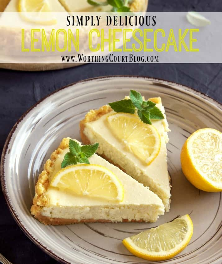 Tips for how to make the perfect cheesecake plus a yummy recipe || Worthing Court
