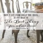 Overcoming Your Fear Just Might Be The Best Thing You've Ever Done For Your Home