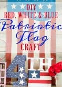 DIY Patriotic Flag Craft || Worthing Court