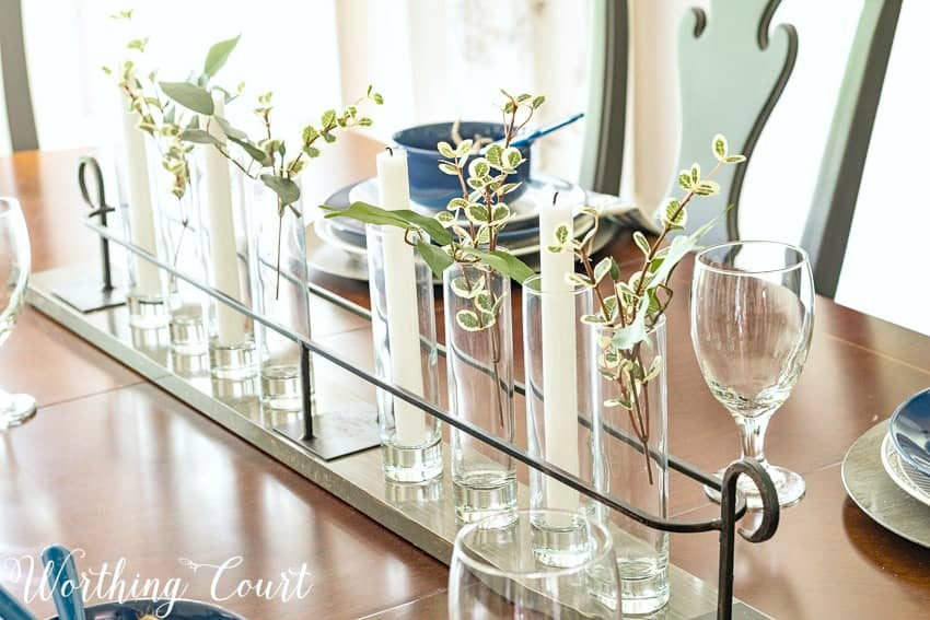 Simple summer centerpiece || Worthing Court