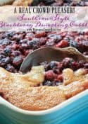 How To Make Southern Blackberry Dumpling Cobbler