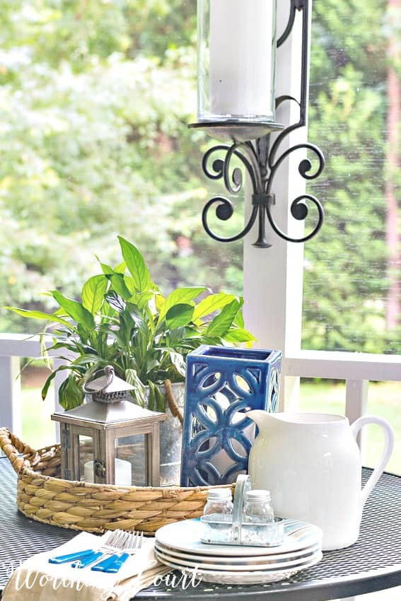 These tips will help you turn your porch into a relaxing oasis || Worthing Court