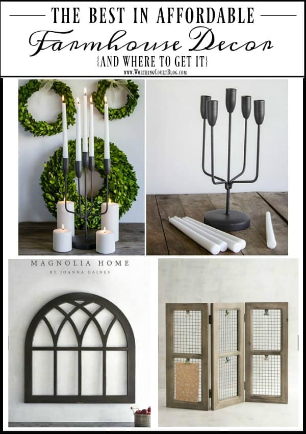 The Best In Affordable Farmhouse Decor || Worthing Court