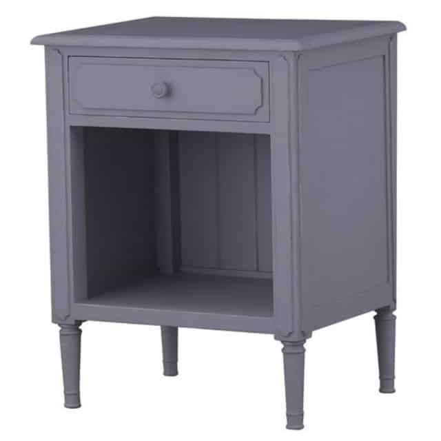 My favorite part of this little beauty is the detail on the front of the drawer and also the turned look to the legs. Plus, it's good and tall. || Worthing Court