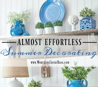 How To Almost Effortlessly Decorate For Summer