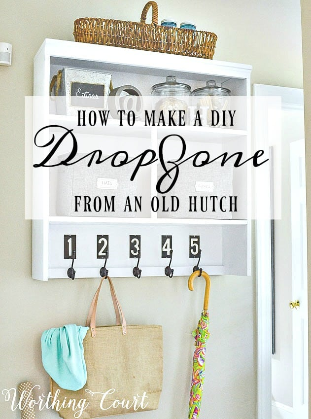 What To Do When There's No Space For A Mudroom || Worthing Court