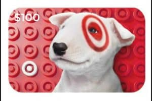 $100 Target Gift Card Giveaway + August Recap