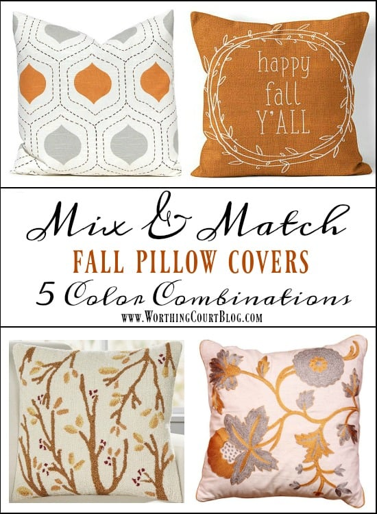 Best Throw Pillow Covers Part - 46: A Great Variety Of Fall Throw Pillow Covers To Mix And Match #falldecor # Pillows